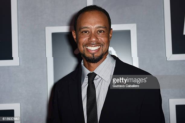 Tiger Woods attends the Tiger Woods Foundation's 20th Anniversary Celebration at the New York Public Library on October 20 2016 in New York City