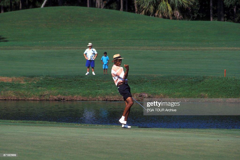 Tiger Woods - 1996 File Photos : News Photo