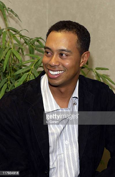 Tiger Woods during Coca Cola Presents Tiger Jam VI Benefitting Tiger Woods FoundationGreen Room at Mandalay Bay Events Center in Las Vegas Nevada...