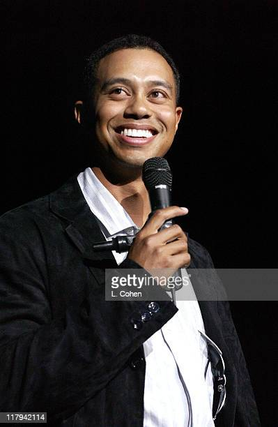 Tiger Woods during Coca Cola Presents Tiger Jam VI Benefitting Tiger Woods FoundationArrivals Concert at Mandalay Bay Events Center in Las Vegas...
