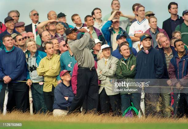 Tiger Woods during the 127th British Open Golf at Royal Birkdale GC in Southport 16th19th July 1998