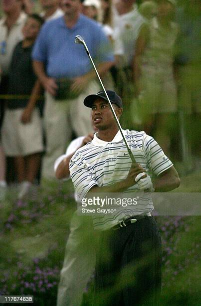 Tiger Woods during Tiger Woods and Annika Sorenstam win Battle at Bighorn at Big Horn Country Club in Palm Desert California United States