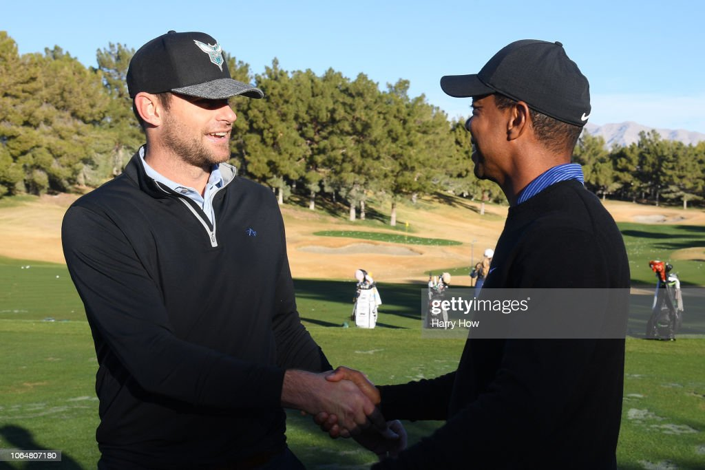 The Match: Tiger vs Phil – Pro-Am Tournament : News Photo
