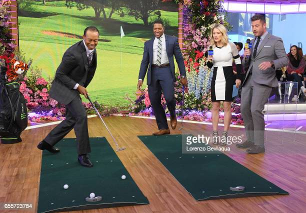 AMERICA Tiger Woods is a guest on 'Good Morning America' Monday March 20 airing on the ABC Television Network TIGER
