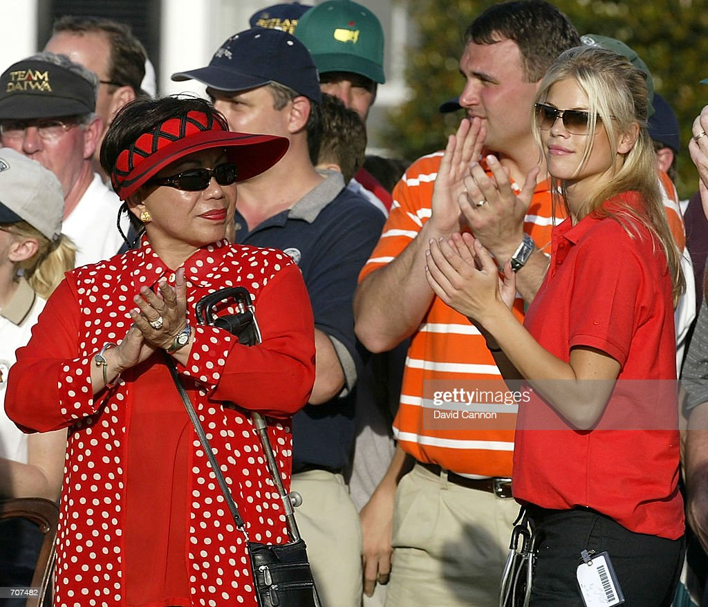 Tiger Woods'' mother Kultida Woods and his new girlfriend ...
