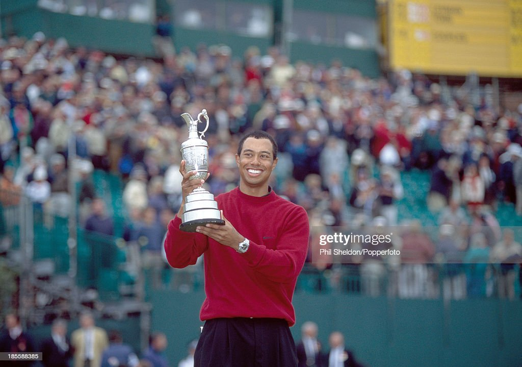Tiger Woods Wins The British Open : News Photo