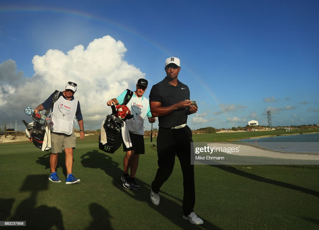 Hero World Challenge - Round One : News Photo