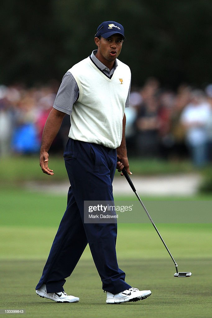 2011 Presidents Cup - Day Three : News Photo