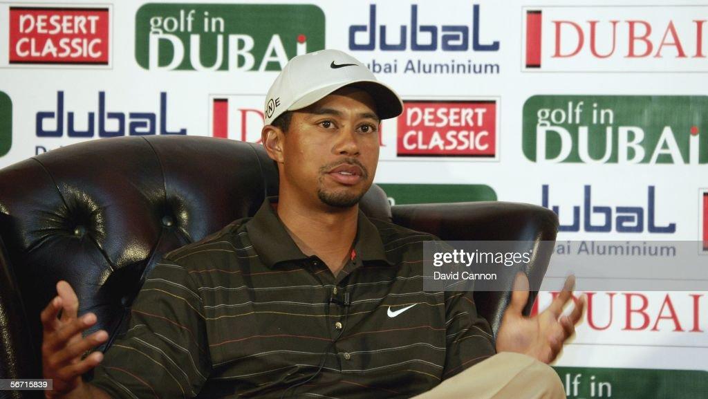 Dubai Desert Classic: Previews : News Photo