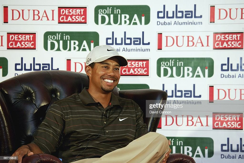 Dubai Desert Classic: Previews : News Photo