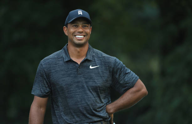 The Northern Trust - Preview Day 3 - Tiger Woods