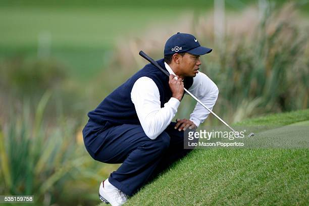 Tiger Woods of USA 2006 during the WGC American Express championships at The Grove golf course in Watford Hertfordshire England UK