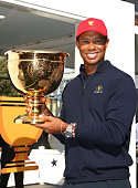 melbourne australia tiger woods poses with