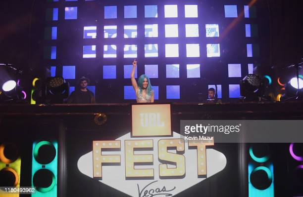 Tigerlily performs at CLUB JBL during the 3rd annual JBL Fest, an exclusive, three-day music experience hosted by JBL at Jewel Nightclub at the Aria...