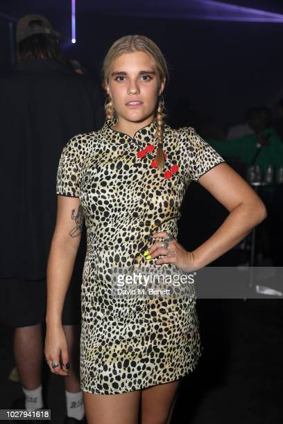 Tigerlily Taylor attends the Axel Arigato launch at Village Underground on September 6 2018 in London England