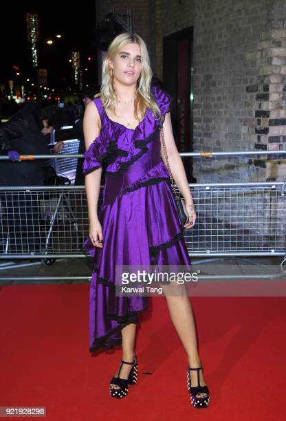 Tigerlily Taylor attends the Naked Heart Foundation's Fabulous Fund Fair during London Fashion Week February 2018 at the Roundhouse on February 20...