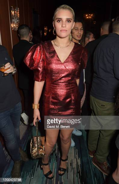 Tigerlily Taylor attends the NME Awards after party in association with Copper Dog at The Standard on February 12 2020 in London England