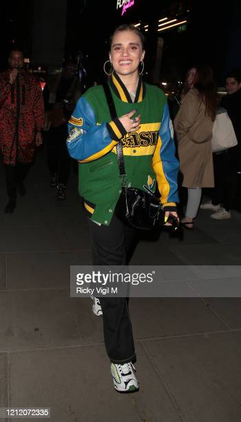 Tigerlily Taylor attends the RICHARD ORLINSKI's PopUp Launch At FLANNELS London on March 12 2020 in London England