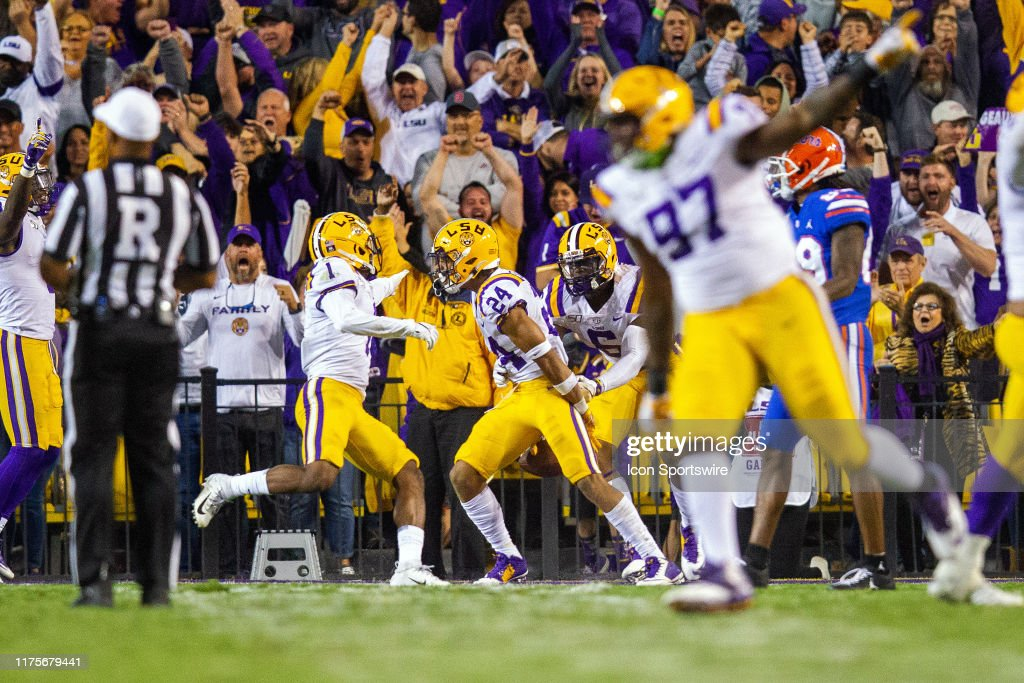 COLLEGE FOOTBALL: OCT 12 Florida at LSU : News Photo