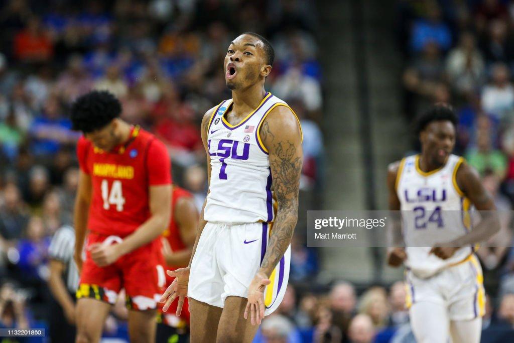 NCAA Basketball Tournament - Second Round - Jacksonville : News Photo