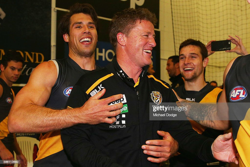 AFL Rd 20 - Richmond v Collingwood : News Photo