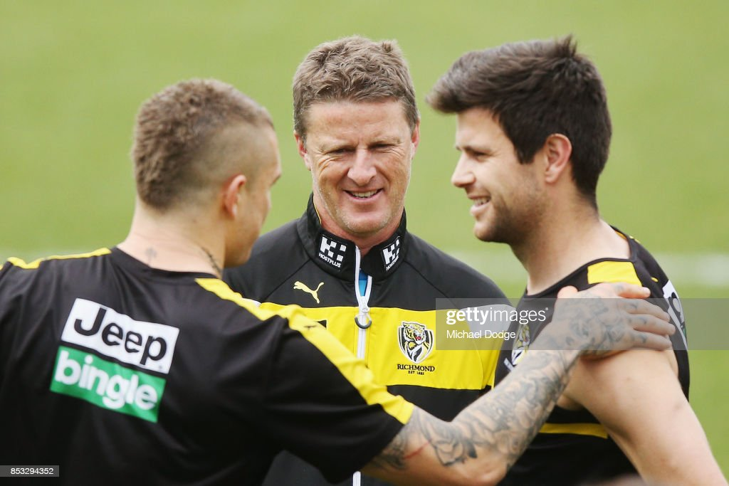 Richmond Tigers Media Opportunity & Recovery Session
