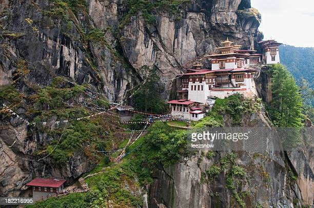 Tiger's Nest Monastery in Bhutan