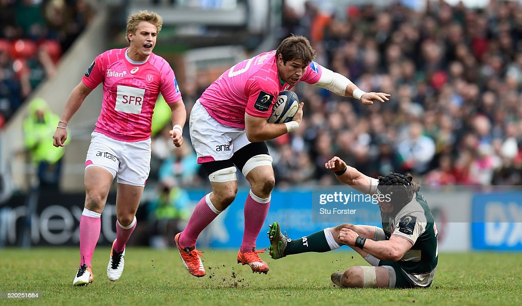 Leicester Tigers v Stade Francais Paris  - European Rugby Champions Cup Quarter Final