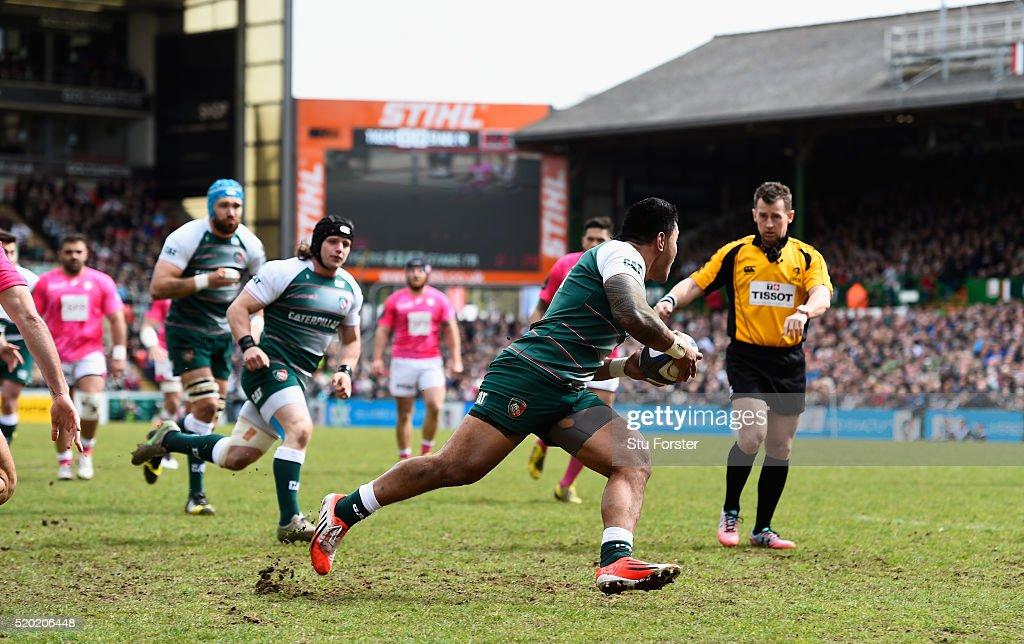 Leicester Tigers v Stade Francais Paris  - European Rugby Champions Cup Quarter Final : News Photo