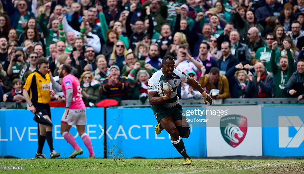 Leicester Tigers v Stade Francais Paris  - European Rugby Champions Cup Quarter Final : News Photo