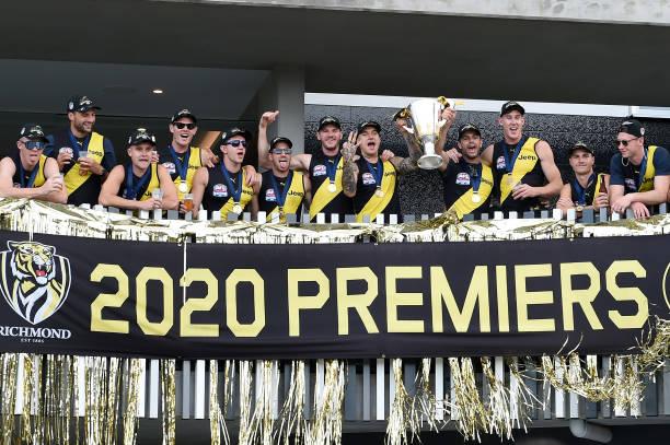 AUS: Richmond Tigers AFL Grand Final Winning Celebrations