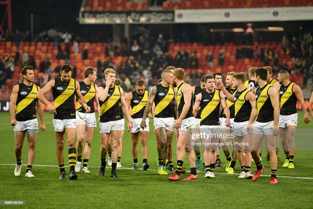 AFL Rd 17 - GWS v Richmond : News Photo
