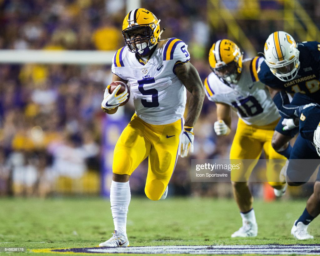 COLLEGE FOOTBALL: SEP 09 Chattanooga at LSU : News Photo