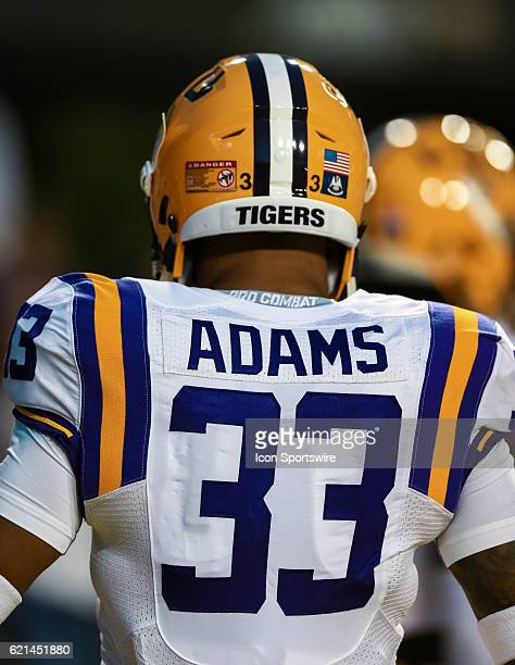 Tigers safety Jamal Adams during the game between the Alabama Crimson Tide and the LSU Tigers on November 5 at Tiger Stadium in Baton Rouge LA