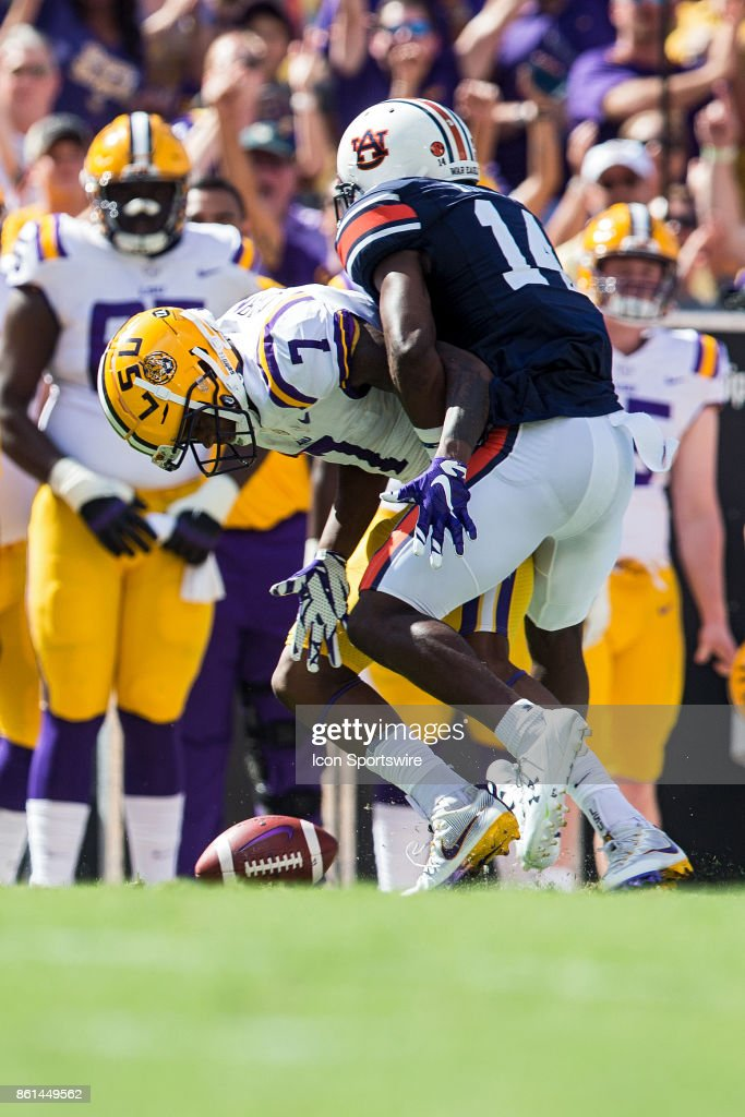 COLLEGE FOOTBALL: OCT 14 Auburn at LSU Pictures | Getty Images