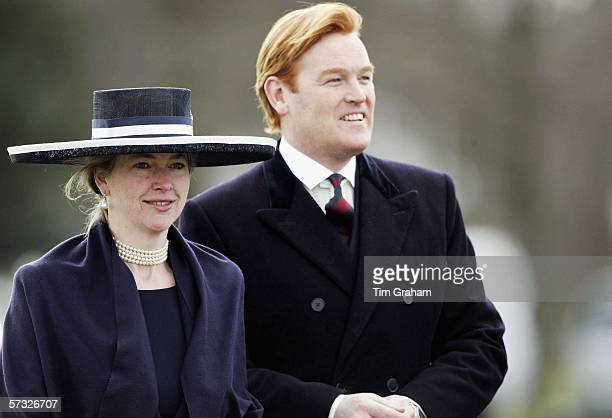 Tiggy LeggeBourke and Mark Dyer attend the Sovereign's Parade at Sandhurst Military Academy to watch Prince Harry passout as commissioned officer...