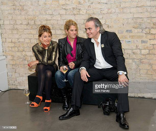 Tiggy MaConochie Tracey Emin and Dave Bennet attend annual party to raise funds for Whitechapel Art Gallery's exhibition and education programme at...