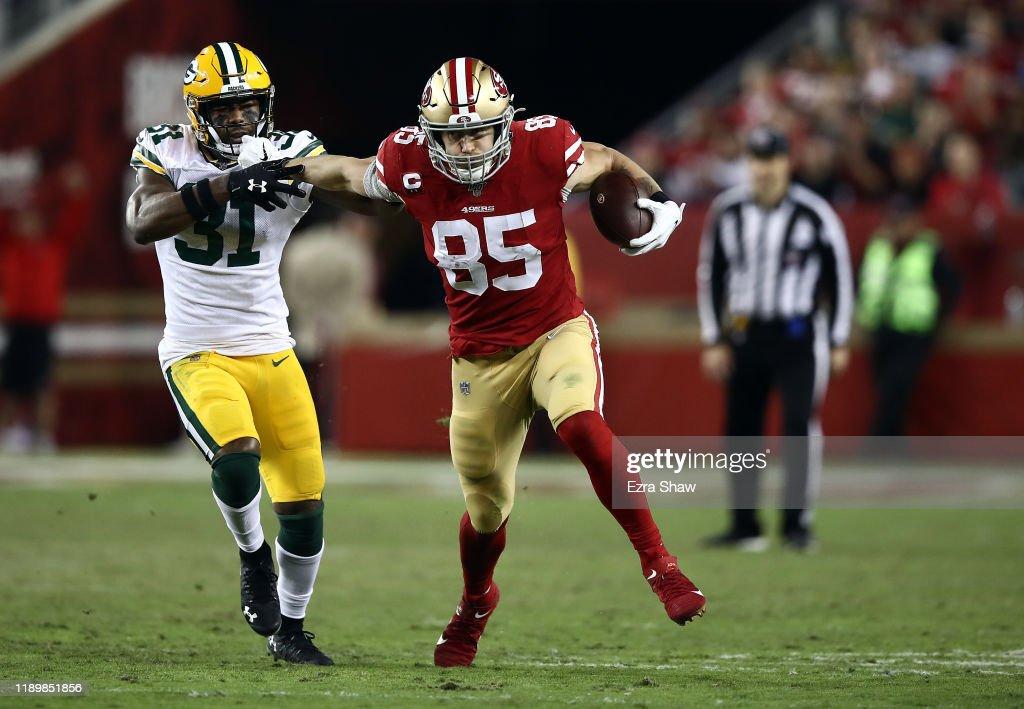 Green Bay Packers vSan Francisco 49ers : News Photo