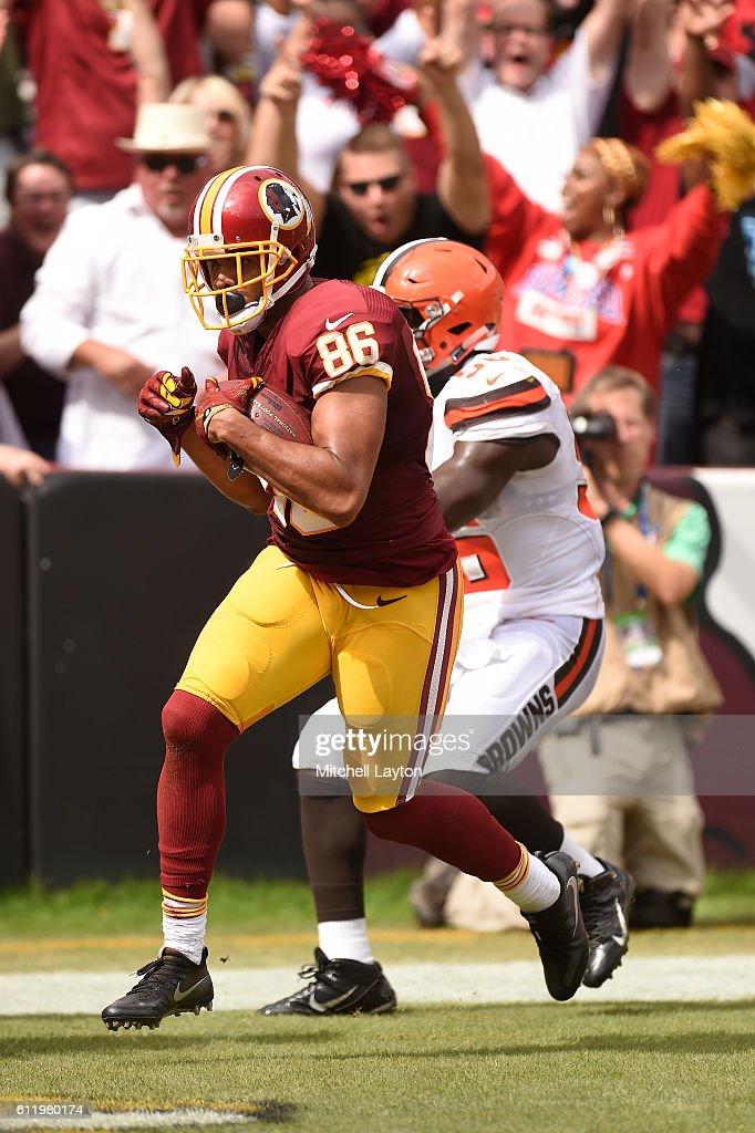 Cleveland Browns v Washington Redskins : Nachrichtenfoto