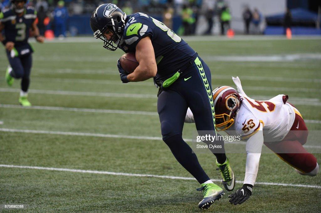 Washington Redskins vSeattle Seahawk : News Photo