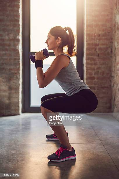 tight + toned - woman bum stock photos and pictures