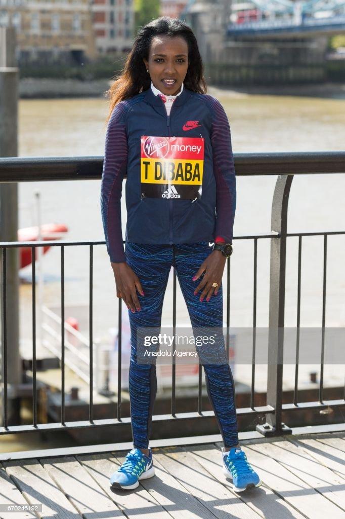 London Marathon photocall  : News Photo