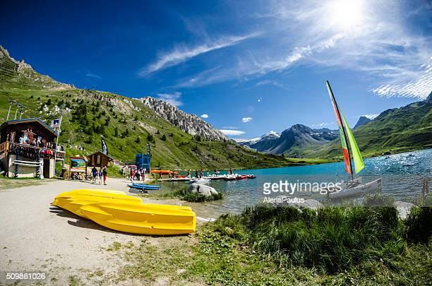 Tignes Lake-sports aquatiques