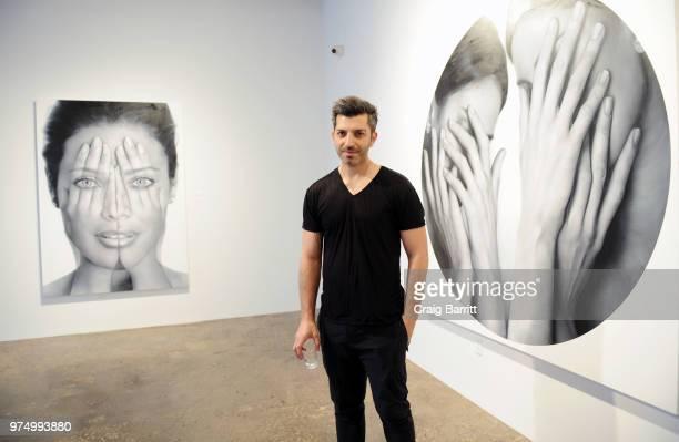 Tigran Tsitoghdzyan attends the Tigran Tsitoghdzyan Uncanny show at Allouche Gallery on June 14 2018 in New York City