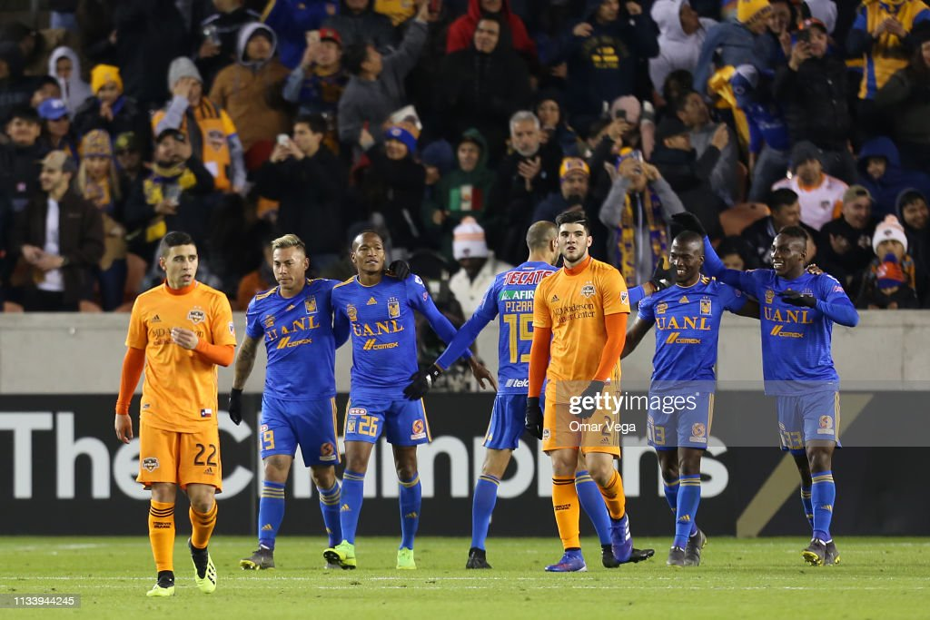 Houston Dynamo v Tigres UANL - CONCACAF Champions League 2019 : News Photo