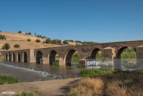Tigris bridge also known as ten arches bridge