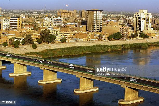 Tigris River and skyline on September 21 2006 in Baghdad Iraq The United Nations Assistance Mission in Iraq reportedly said the number of Iraqi...
