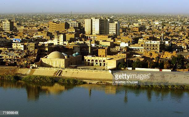 Tigris River and skyline on September 21, 2006 in Baghdad, Iraq. The United Nations Assistance Mission in Iraq reportedly said the number of Iraqi...