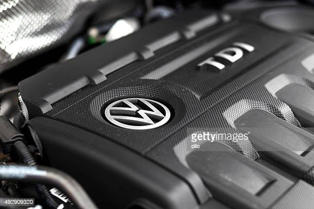 VW Tiguan TDI engine bay