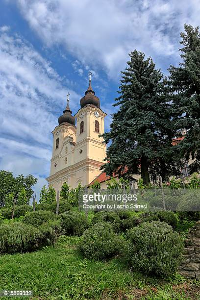 tihany peninsula in hungary - hungary stock pictures, royalty-free photos & images